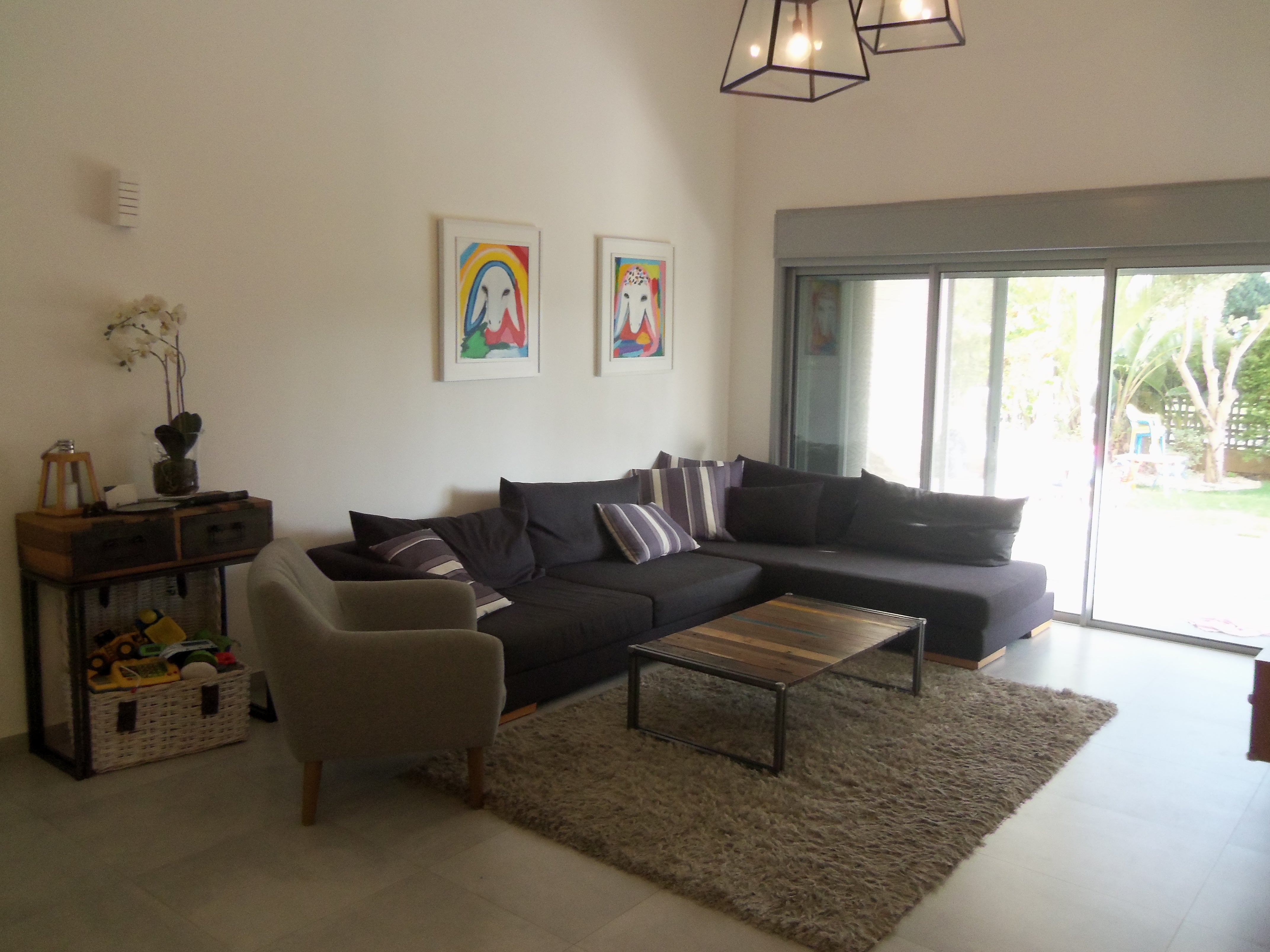 GardenApartment in Netanya on Shalom Aleichem street