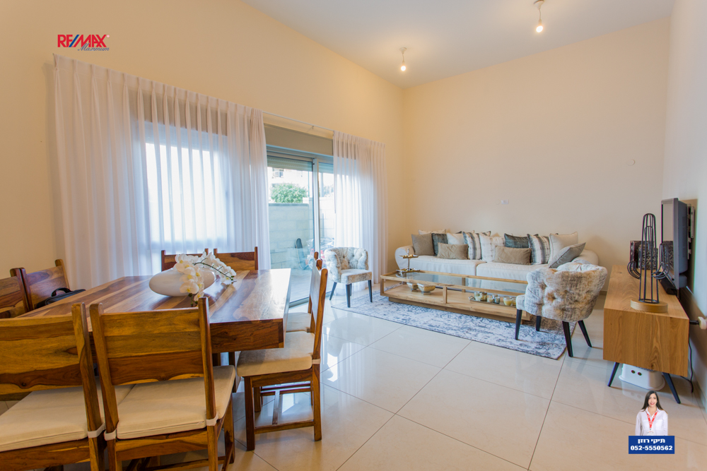 Garden apartment in Netanya on Shmurat Nakhal Bsor street