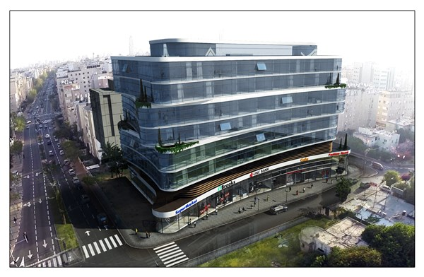 Commercial/Offices and commercial spaces in Netanya in Alon Tsvi street